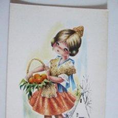 Postales: POSTAL EUROCROMO Nº 5 VALENCIA - 1963 - ILUSTRADA POR GALLARDA - SIN CIRCULAR. Lote 98501503