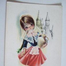 Postales: POSTAL EUROCROMO Nº 7 MALLORCA - 1965 - ILUSTRADA POR GALLARDA - SIN CIRCULAR. Lote 98501631