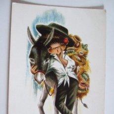Postales: POSTAL EUROCROMO Nº 13 BOTIJERO - 1965 - ILUSTRADA POR GALLARDA - SIN CIRCULAR. Lote 98501855