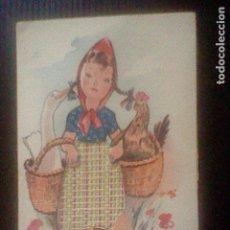 Postales: ILUSTRACION CON TELA CREATOR P D O ESCRITA Nº 103 . Lote 98706991