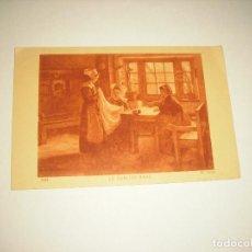 Postales: LE ABLIER ROSE . SALONS DE PARIS 7044 . CIRCULADA 1928. Lote 289615028