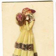 Postales: POSTAL ILUSTRADA ( MUJER ) MAUZAN . ESCRITA. Lote 99676539
