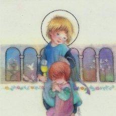Postales: P128 - SALMONS - PRECIOSO RECORDATORIO PAPEL VEGETAL - 1990. Lote 100088455