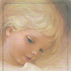 Postales: P130 - MARTA RIBAS - RECORDATORIO EDIC. BUSQUETS 13X8,5 CM - 1988. Lote 124718580