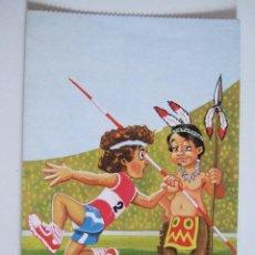 Postales: POSTAL DIBUJO NIÑO - 1981 - ALPE - ESCRITA SIN CIRCULAR. Lote 100448159