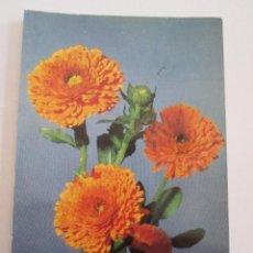 Postales: POSTAL FLORES - CORONADOS AMARILLOS - BERGAS 1966. Lote 100739543