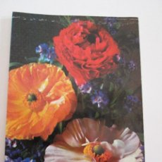 Postales: POSTAL FLORES - AMAPOLAS - BERGAS 1971. Lote 100740331