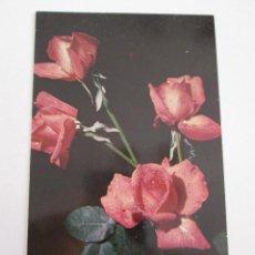 Postales: POSTAL FLORES - ROSAS. Lote 100740395