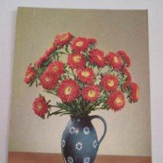 Postales: POSTAL FLORES - EN UN JARRON - CIRCULADA ALEMANIA. Lote 100740507