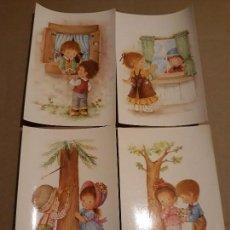 Cartes Postales: LOTE 4 SIMPÁTICAS POSTALES A ESTRENAR, AÑOS 60 Y 70 REF. 6207 CYZ*. Lote 254731060