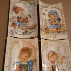Cartes Postales: LOTE 4 SIMPÁTICAS POSTALES A ESTRENAR, AÑOS 60 Y 70 REF. 6121 CYZ*. Lote 254731310