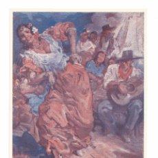 Postales: ZAMBRA RODRIGUEZ CLIMENT BAILE FLAMENCO - EDICIÓN ARTIGAS - POSTAL. Lote 103667883