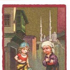 Postales: POSTAL ILUSTRADA E. COLOMBO ( NIÑOS ) ED. FORTUNA. ESCRITA. Lote 103715447