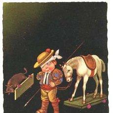 Postales: POSTAL ILUSTRADA E. COLOMBO ( NIÑOS ) ED. GMA. CIRCULADA 1929. Lote 103715623