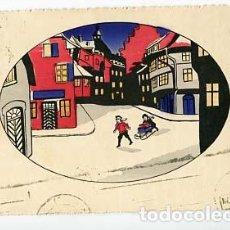 Postales: POSTAL ILUSTRADA ( NIÑOS ) . ED. AMAG . CIRCULADA. Lote 103715811