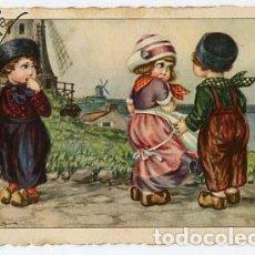 Postales: POSTAL ILUSTRADA ( NIÑOS ) A. BERTIGLIA. ESCRITA. Lote 103716891