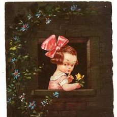 Postales: POSTAL ILUSTRADA ( NIÑOS ) COLOMBO. ED. ULTRA. CIRCULADA. Lote 103716963