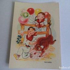 Postales: BONITA POSTAL TRAJES REGIONALES NAVARRA. Lote 104503595