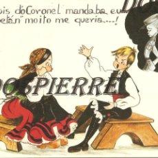 Postales: POSTAL, DIBUJO-CARICATURA, EN GALLEGO , ED. POSTALES FAMA, ESCRITA. Lote 104982039