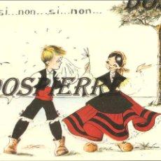 Postales: POSTAL, DIBUJO-CARICATURA, EN GALLEGO , ED. POSTALES FAMA, ESCRITA. Lote 104982115