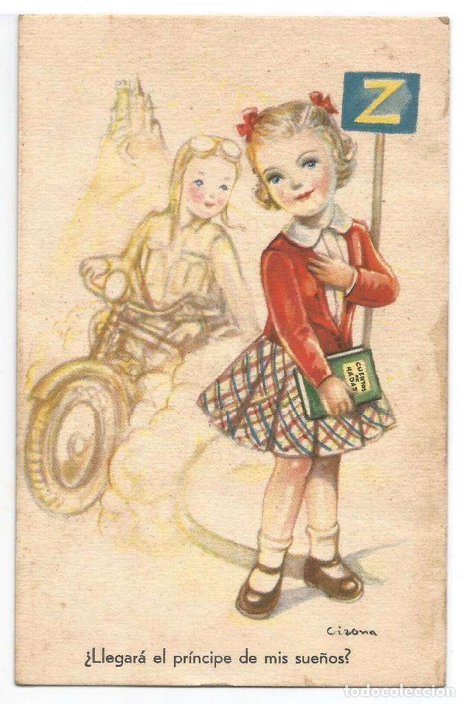 EDITORIAL ARTIGAS / IKON SERIE 82.- ILUSTRA GIRONA (Postales - Dibujos y Caricaturas)