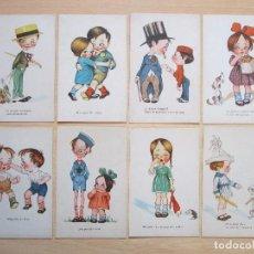 Postales: LOTE DE 16 TARJETAS POSTALES ANTIGUAS – CMB CUPIDOS (SERIE Nº 6). Lote 105453943