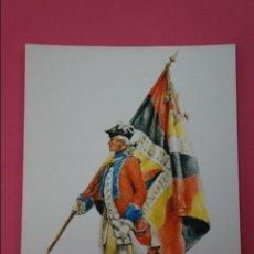 Postales: POSTAL DE:SOLDADOS INFANTERIA Y CABALLERIA,(SIN CIRCULAR). Lote 105803923