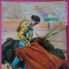 Postales: POSTAL DE:TORERO,(SIN CIRCULAR). Lote 217011652