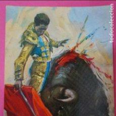 Postales: POSTAL DE:TORERO,(SIN CIRCULAR). Lote 217011717