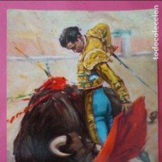 Postales: POSTAL DE:TORERO,(SIN CIRCULAR). Lote 217011726