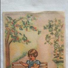 """Postales: POSTAL - IKON - EDICIONES DE ARTE BARCELONA.SERIE I """"COME Y CALLA"""" SIN CIRCULAR -. Lote 106681223"""
