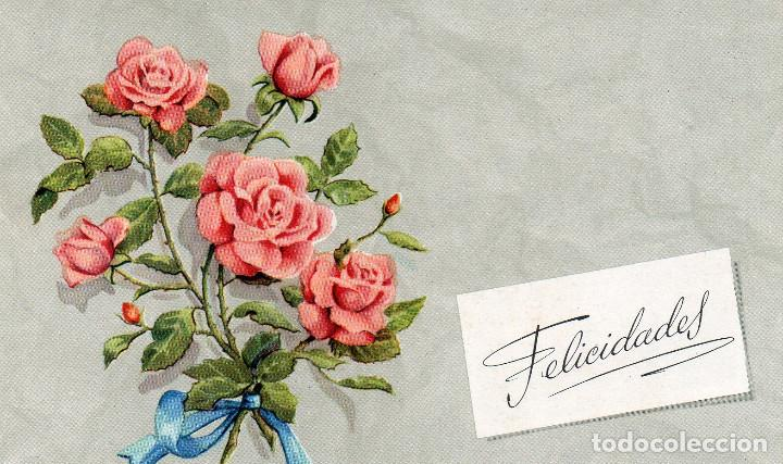 Dibujo Ramos Flores Rosas Buy Old Postcards Of Drawings And