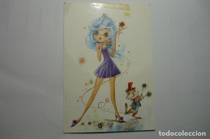 POSTAL C Y Z -DIBUJO ARIAS - ESCRITA (Postales - Dibujos y Caricaturas)