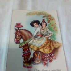 Postales: ANTIGUA POSTAL CARICATURAS. Lote 109525906