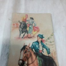 Postales: ANTIGUA POSTAL CARICATURAS JANO A IBARRA. Lote 109525990