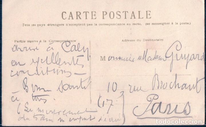 Postales: POSTAL DIBUJO DE GRANJA - GRANERO - GALLINAS Y GRANJERA DANDOLES DE COMER - Foto 2 - 109529915