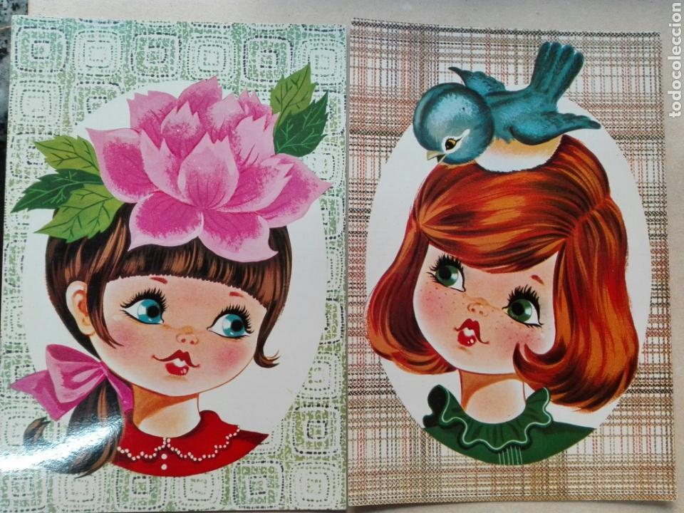 POSTALES NIÑOS EDICIONES SAVIR BARCELONA (Postales - Dibujos y Caricaturas)