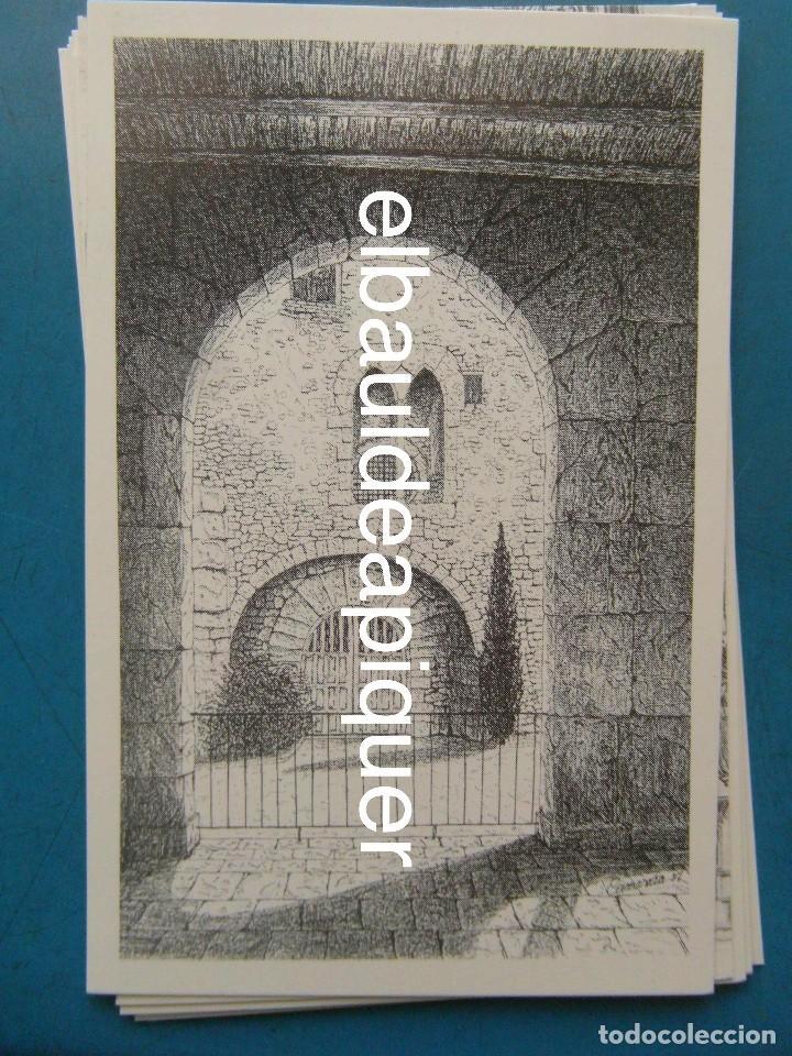Postales: 8 Tarjetas postales. Motius Tarragonins. Tarragona. Dibujos de Camarasa. 1991. Edicions Minerva - Foto 6 - 110461275