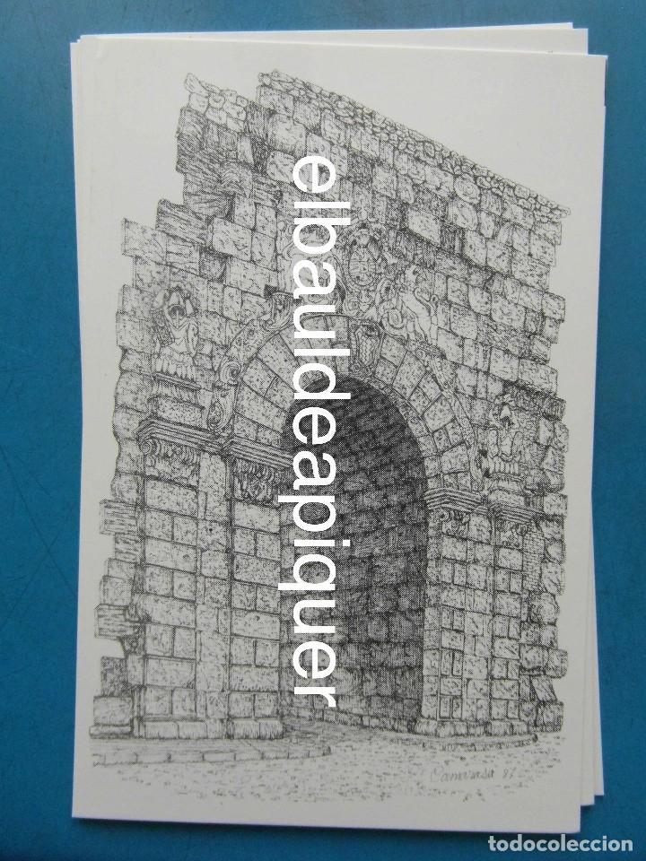 Postales: 8 Tarjetas postales. Motius Tarragonins. Tarragona. Dibujos de Camarasa. 1991. Edicions Minerva - Foto 8 - 110461275