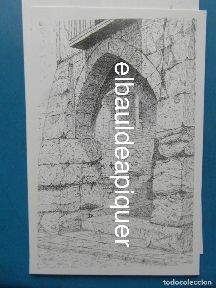 Postales: 8 Tarjetas postales. Motius Tarragonins. Tarragona. Dibujos de Camarasa. 1991. Edicions Minerva - Foto 9 - 110461275