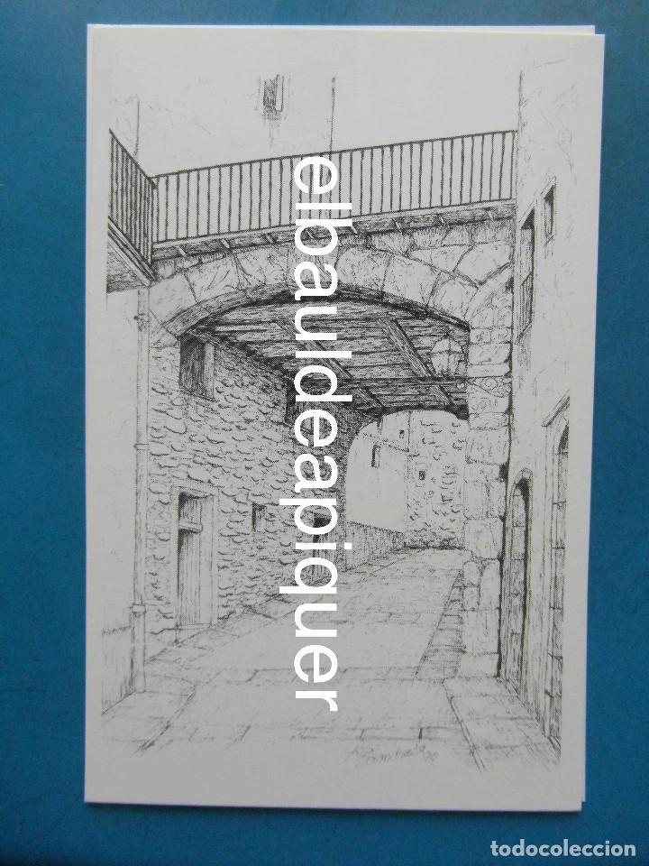 Postales: 8 Tarjetas postales. Motius Tarragonins. Tarragona. Dibujos de Camarasa. 1991. Edicions Minerva - Foto 10 - 110461275