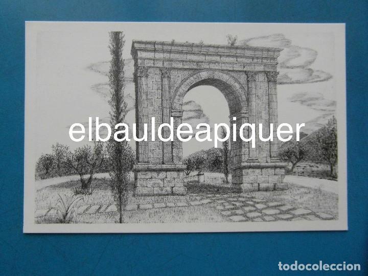 Postales: 8 Tarjetas postales. Motius Tarragonins. Tarragona. Dibujos de Camarasa. 1991. Edicions Minerva - Foto 11 - 110461275