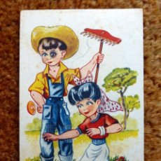 Postales: TARJETA POSTAL EDICIONES TRIO SERIE 72 CIRCULADA . Lote 110752039