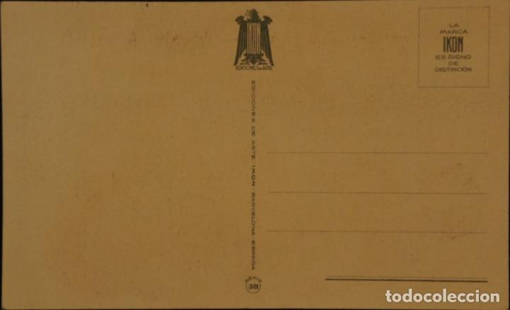 Postales: Postal sin circular de Ediciones de Arte IKON; Barcelona. Serie 46. Años 40 - Foto 2 - 110831543