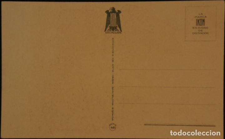Postales: Postal sin circular de Ediciones de Arte IKON; Barcelona. Serie 46. Años 40 - Foto 2 - 110832311