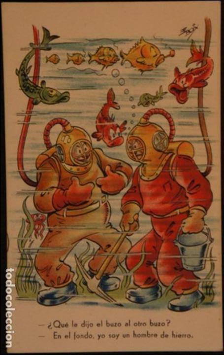 POSTAL SIN CIRCULAR DE EDICIONES DE ARTE IKON; BARCELONA. SERIE 46. AÑOS 40 (Postales - Dibujos y Caricaturas)