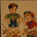 Postales: POSTAL SIN CIRCULAR DE EDICIONES DE ARTE IKON; BARCELONA. SERIE 38. AÑOS 40. Lote 110833207