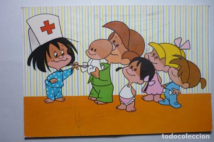 postal la familia telerin comprar postales antiguas de dibujos y