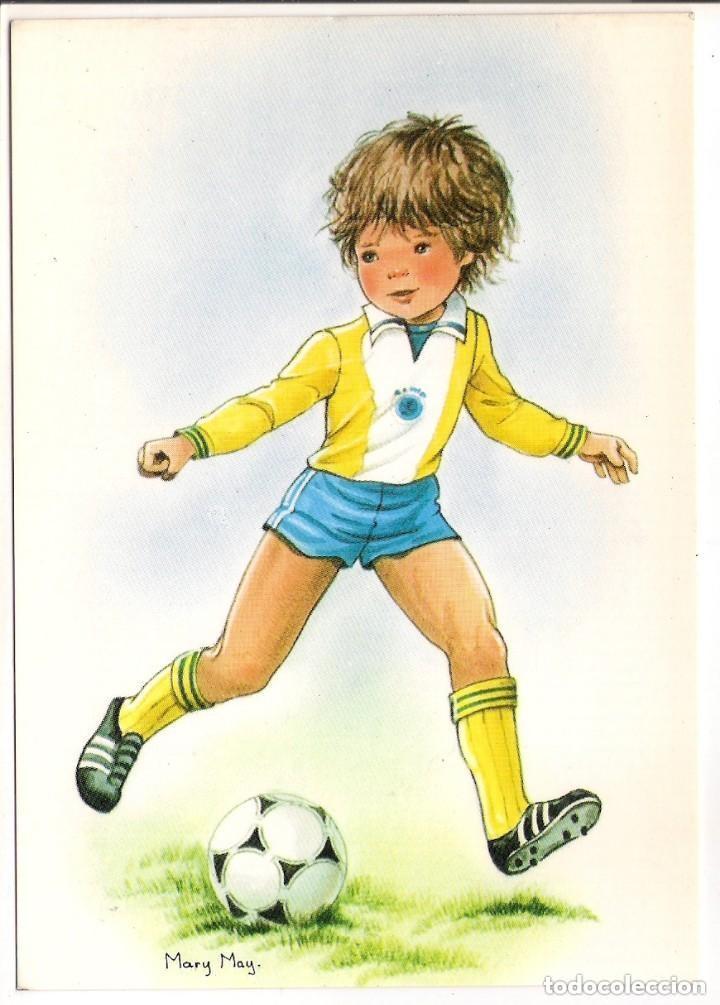 67271 Postal Dibujo Nino Jugando Al Futbol Il Comprar Postales