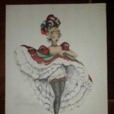 Postales: POSTAL ANTIGUA BAILARINA - ILUSTRADA POR JANICOTTE. Lote 111694799
